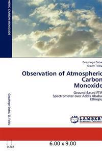 Observation of Atmospheric Carbon Monoxide