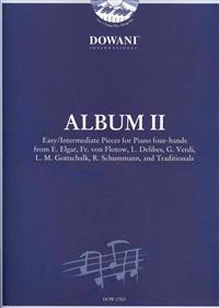 Album Vol. II for Piano Four-Hands: Easy to Intermediate Pieces for Piano Four-Hands