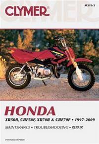 Clymer Honda XR50R, CRF50F, XR70R & CRF70F, 1997-2009