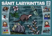 Sánit labyrinttas 2. Spill med 6 brett, 6 terninger og 24 flyttebrikker. 2-4 deltakere