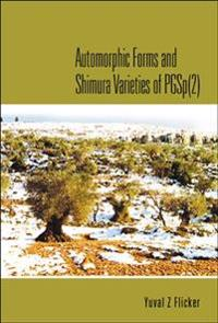Automorphic Forms and Shimura Varieties of Pgsp2