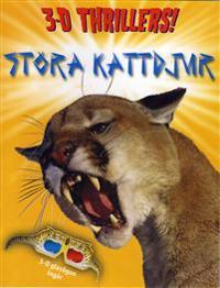 Stora kattdjur 3D Thrillers