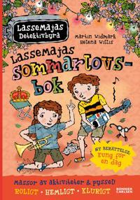 LasseMajas sommarlovsbok.  Kung för en dag