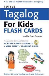 Tuttle Tagalog for Kids Flash Cards