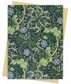 William Morris: Seaweed Wallpaper Greeting Card Pack