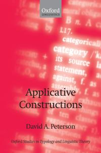 Applicative Constructions