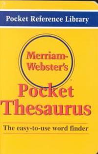 Merriam-Webster's Pocket Thesaurus