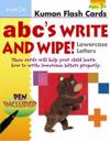 ABC's Lowercase Write and Wipe Flash Cards