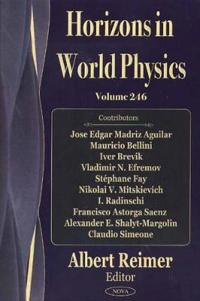 Horizons in World Physics