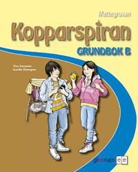 Mattegruvan 4-6 Kopparspiran Grundbok B - Gunilla Östergren, Ylva Svensson pdf epub