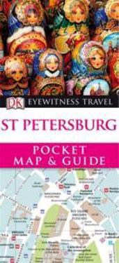 DK Eyewitness Pocket Map and Guide: St Petersburg