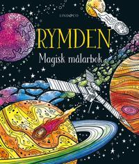 Rymden : Magisk målarbok