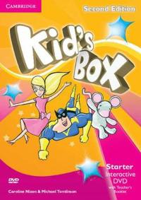 Kid's Box Starter Interactive Dvd Ntsc With Teacher's Booklet