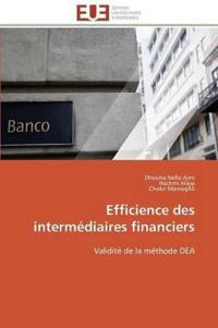 Efficience Des Intermediaires Financiers