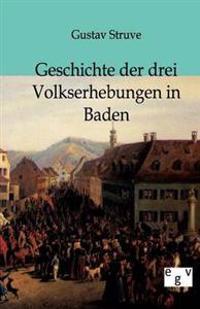 Geschichte Der Drei Volkserhebungen in Baden