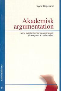 Akademisk argumentation