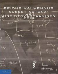 Epionen Kokeet kotona ja aineistovastaaminen 2014