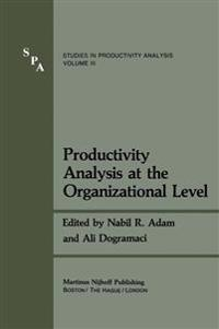 Productivity Analysis at the Organizational Level