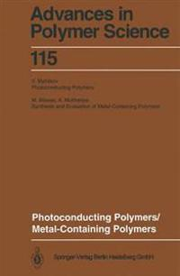 Photoconducting Polymers/Metal-Containing Polymers
