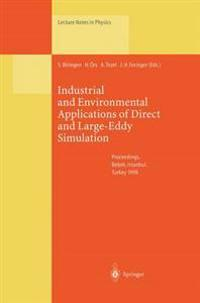 Industrial and Environmental Applications of Direct and Large-Eddy Simulation