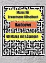 Erwachsene Labyrinthe Puzzle Buch - Hardcover
