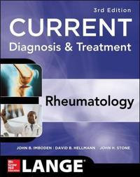 Current Diagnosis & Treatment in Rheumatology