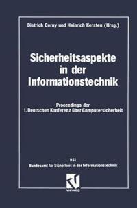 Sicherheitsaspekte in Der Informationstechnik