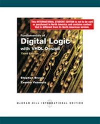 Fundamentals Of Digital Logic W/Vhdl Des