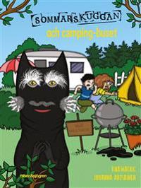 SIGNERAD Sommarskuggan och camping-buset
