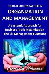 Critical Success Factors in Organization and Management: The Six Natural Systemic Management Functions