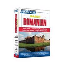 Pimsleur Romanian Basic Course - Level 1 Lessons 1-10 CD: Learn to Speak and Understand Romanian with Pimsleur Language Programs [With CD Case]