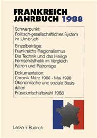 Frankreich-Jahrbuch 1988