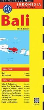 Periplus Travel Map Bali