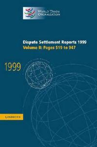 Dispute Settlement Reports 1999: Volume 2, Pages 519-947