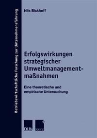 Erfolgswirkungen Strategischer Umweltmanagementmassnahmen