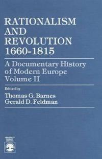 Rationalism and Revolution 1660-1815