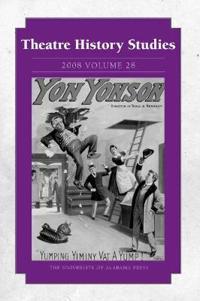 Theatre History Studies 2008