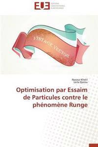 Optimisation Par Essaim de Particules Contre Le Phenomene Runge
