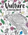 Vulture Coloring Book