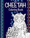 Cheetah Coloring Book