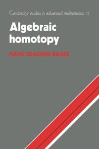 Algebraic Homotopy