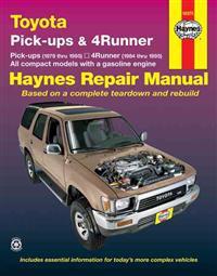 Toyota Pick-ups and 4-runner Automotive Repair Manual