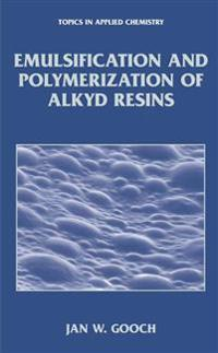 Emulsification and Polymerization of Alkyd Resins