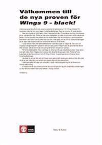 Wings 9 Black Ersättningsprov pdf