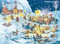 Joulukalenteri Joulupukin joululoma