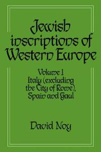 Jewish Inscriptions of Western Europe