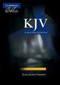 Large Print Text Bible-KJV