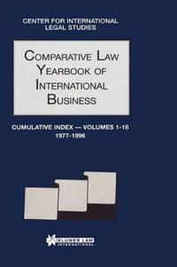 Comparative Law Yearbook of International Business Cumulative Index