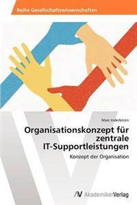 Organisationskonzept Fur Zentrale It-Supportleistungen