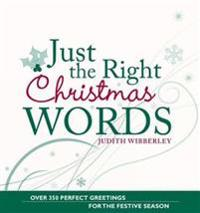 Just the Right Christmas Words